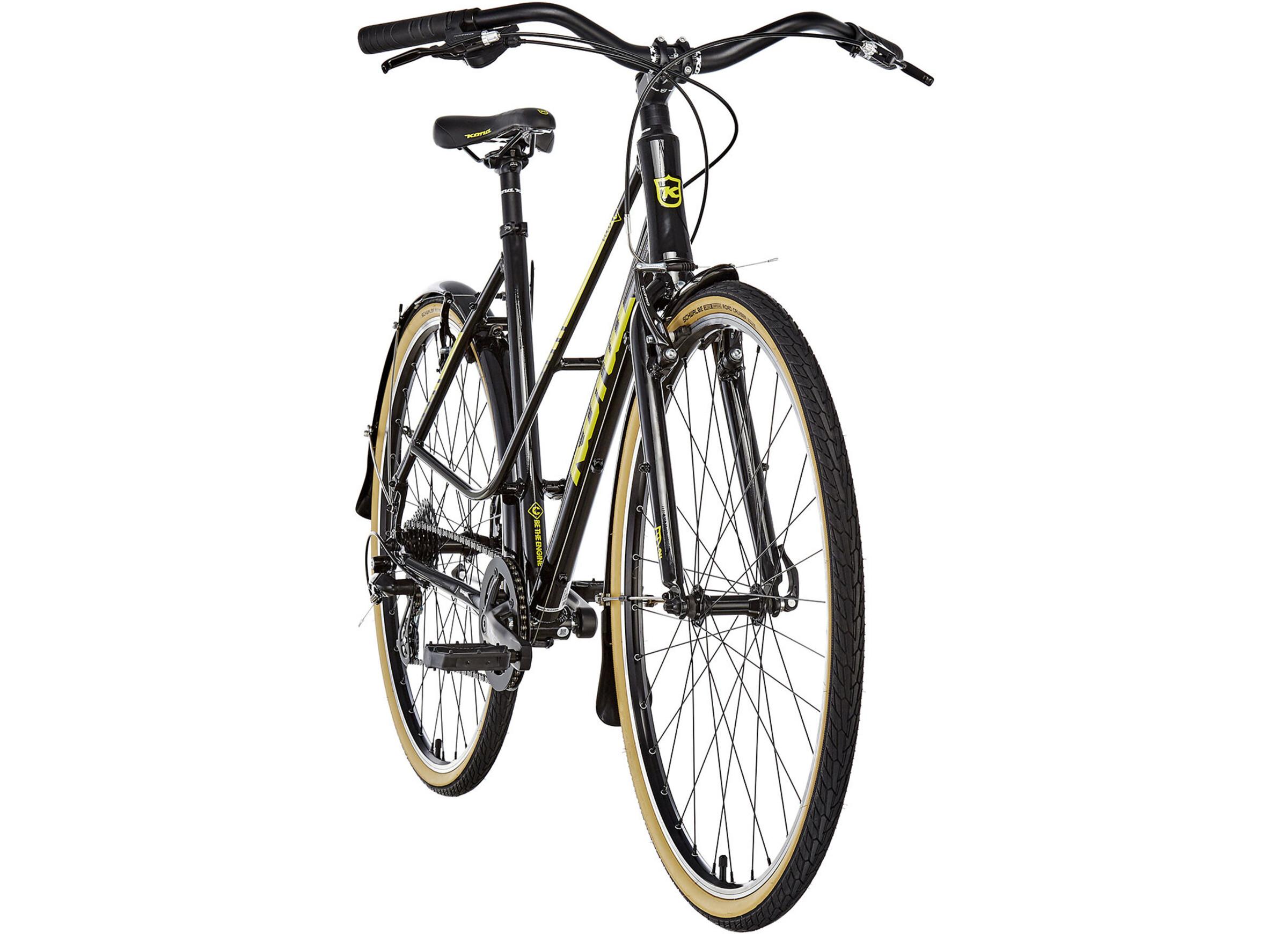 Beste Lichte Stadsfiets : Kona coco special edition stadsfiets geel zwart i online op bikester.be
